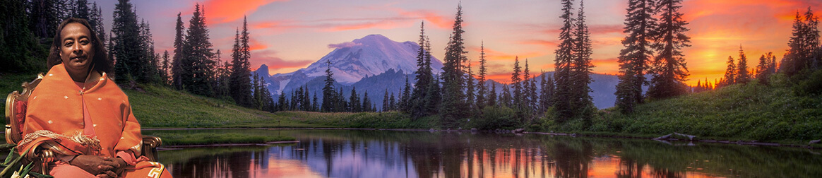 Mt Rainier and Yogananda